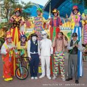 ตัวตลกโบโซ่ งานสวนสยาม วันปิยะมหาราช วันที่ 23 ต.ค.2558